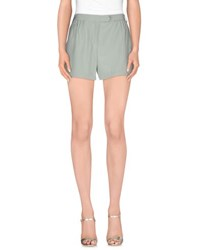 Gold Case Trousers Shorts Women Light Green