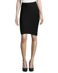 Romeo And Juliet Couture Stretch Knit Bandage Skirt Black