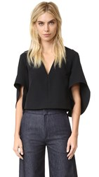 Milly Italian Cady Beetle Top Black