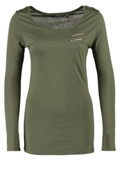 Fresh Made Long Sleeved Top Ivy Olive