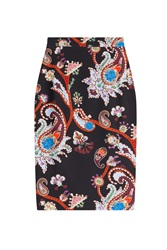 Mary Katrantzou Printed Pencil Skirt Multicolor