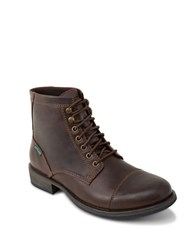 Eastland High Fidelity Cap Toe Boots Dark Brown