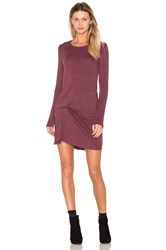Riller And Fount Olive Pinched Front Dress Mauve