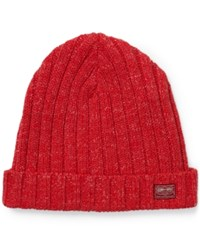 Denim And Supply Ralph Lauren Ribbed Cotton Hat Red