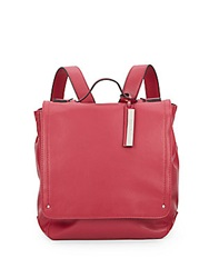 Kenneth Cole Reaction Faux Leather Backpack Berry