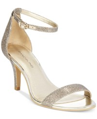 Bandolino Madia Dress Sandals Gold