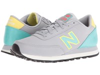 New Balance Wl501 Silver Mink Synthetic Women's Classic Shoes