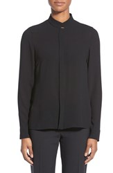 Women's Boss 'Baneyo' Stand Collar Blouse