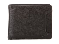 Nike Pebble Leather Billfold Black Travel Pouch