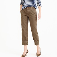 J.Crew Petite Broken In Boyfriend Chino