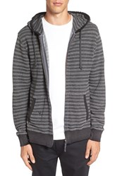 Vissla Men's 'Coyote' Stripe French Terry Zip Hoodie