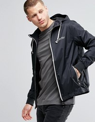 Blend Of America Blend Hooded Jacket Nylon In Black Black