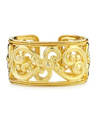Harmony 18K Gold Hinged Cuff Bracelet Eli Jewels
