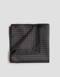 French Connection Conection Pocket Square Grey