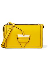 Loewe Barcelona Leather Shoulder Bag Bright Yellow
