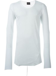 Lost And Found Long Sleeved T Shirt White