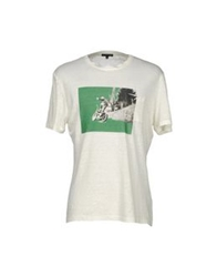 Scaglione T Shirts Ivory