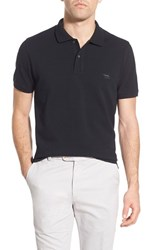 Men's Rodd And Gunn 'The Gunn' Pique Cotton Polo Onyx