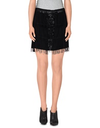 Le Ragazze Di St. Barth Mini Skirts Black