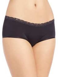 Natori Foundations Bliss Pure Girl Shorts Cafe Midnight Black