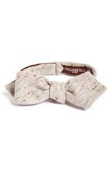 Alexander Olch Men's 'The Crisp' Cotton Melange Bow Tie
