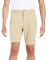 Brooks Brothers Cotton Stretch Shorts Beige