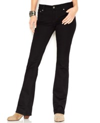 Lucky Brand Lolita Bootcut Jeans Black Amber Wash