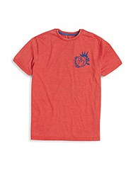 Buffalo David Bitton Boy's Graphic Tee Garnet
