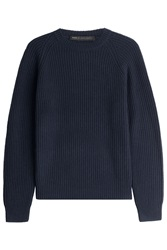 Marc By Marc Jacobs Wool Cashmere Pullover Blue
