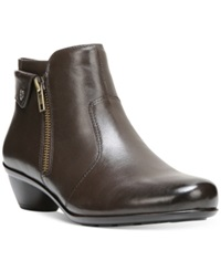 Naturalizer Haley Booties Women's Shoes Oxford Brown