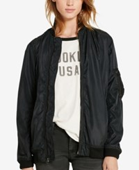Denim And Supply Ralph Lauren Bomber Jacket Polo Black