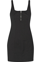 Alexander Wang Cotton Blend Mini Dress Black