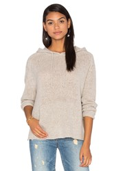 360 Sweater Anabel Cashmere Hooded Gray