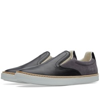 Maison Martin Margiela Maison Margiela 22 Leather Welt Slip On Sneaker Black