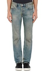 Earnest Sewn Men's Allen Straight Jeans Blue