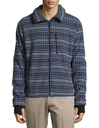 Hawke And Co Nord Zip Up Fleece Grey