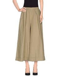 Hache Trousers Casual Trousers Women Military Green