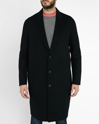Acne Studios Black Charles Wool And Cashmere Coat