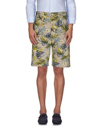Stussy Trousers Bermuda Shorts Men Beige