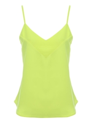 Jane Norman Low V Camisole Top Yellow