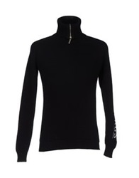 Bikkembergs Turtlenecks Black
