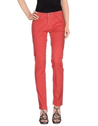 Meltin Pot Denim Denim Trousers Women Brick Red
