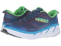 Hoka One One Conquest 3 Astral Aura Neon Green Men's Shoes Blue