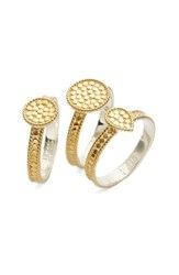 Women's Anna Beck Metal Stacking Rings Set Of 3