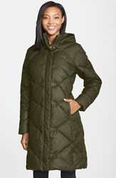 The North Face Women's 'Miss Metro' Hooded Parka Rosin Green