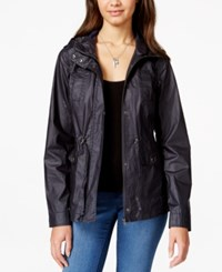 American Rag Waxed Hooded Anorak Only At Macy's