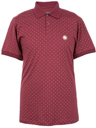 Pretty Green Polka Dot Polo Red