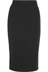Raoul Stretch Knit Midi Skirt Black