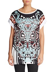 Just Cavalli Printed Tunic White Multi