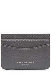 Marc Jacobs Leather Card Holder Grey